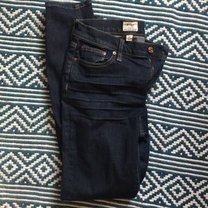 J Crew High Rose Skinny Jeans